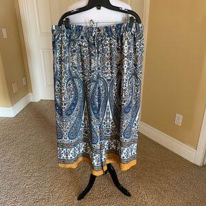 Mello Day Pants - Beautiful patterned culotte pant